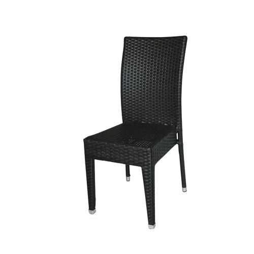 Zahradní stohovatelná židle umělý ratan
