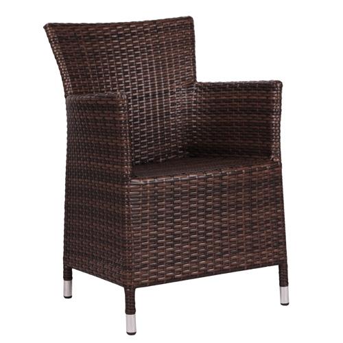 Zahradní židle, umělý ratan