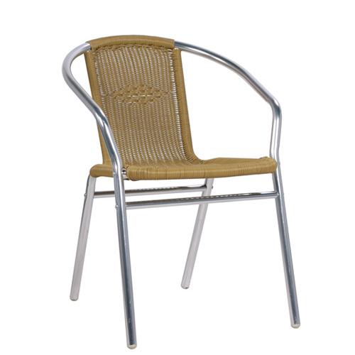 Zahradní venkovní hliníkové židle