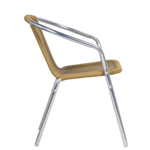 Zahradní levné kovové židle