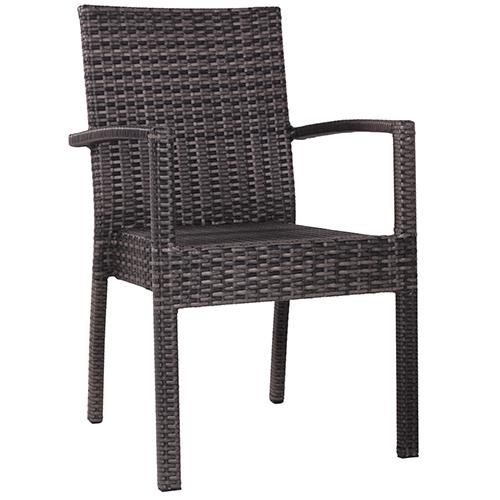 Zahradní rařtanové židle s područkou
