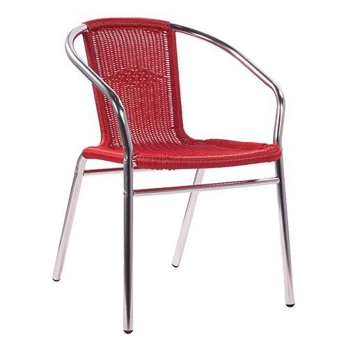 Zahradní hliníkové židle