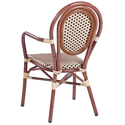 Zahradní židle bambus optik