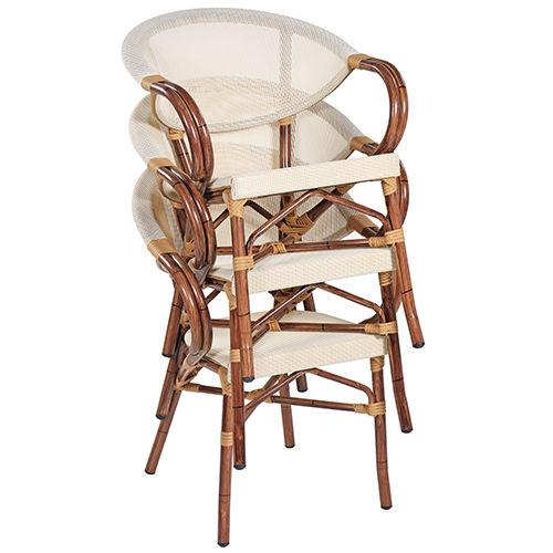 Zahradní židle možnost stohování