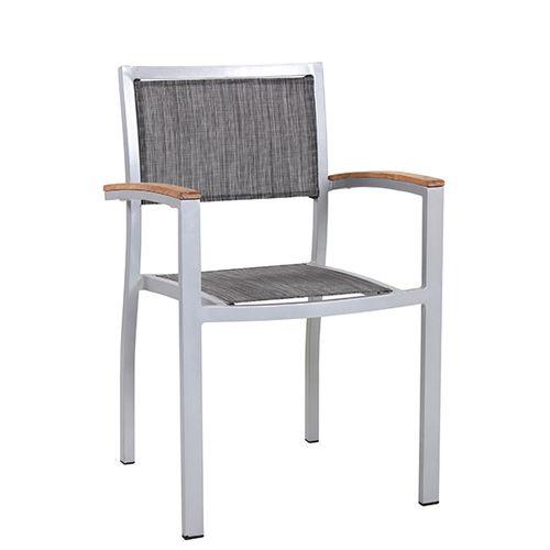 Zahradní židle kovové s výpletem