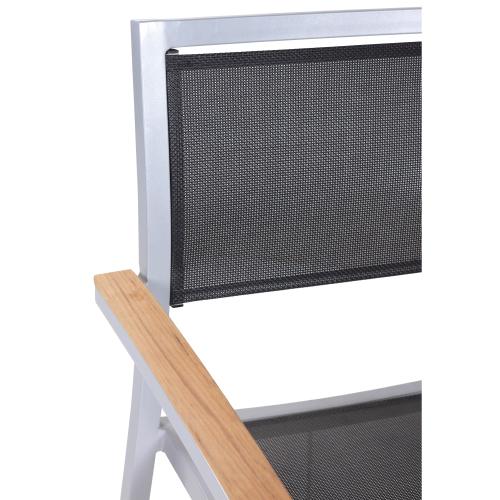 Zahradní židle hliníkový rám