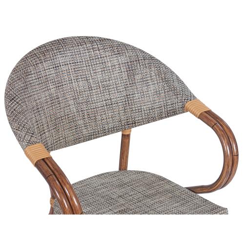Záhradná stolička umelý ratan
