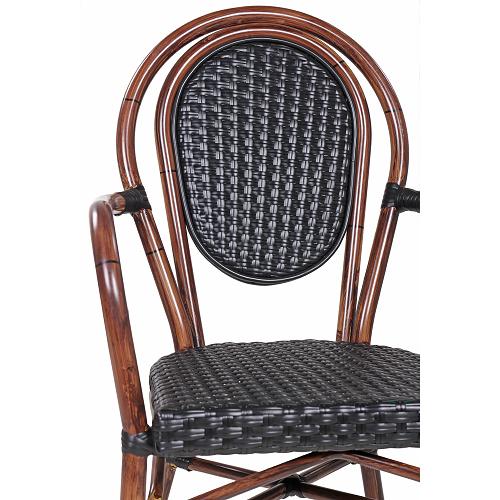 Zahradní židle prorestaurace s loketní opěrkou