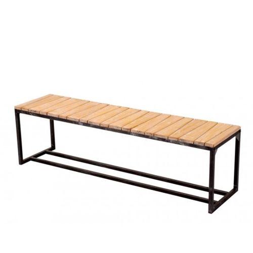Sedací lavice MANDAS 160 SB z recyklovaného dřeva