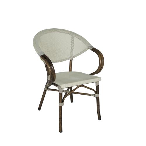 Zahradní židle s výpletem
