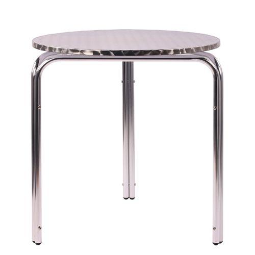 Zahradní hliníkové stoly IRENA D70