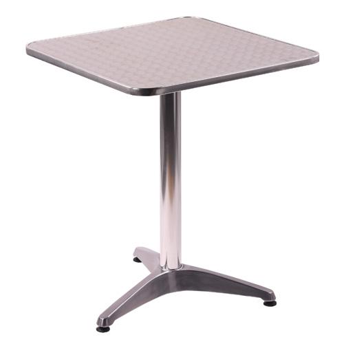Hliníkové stoly jedna noha