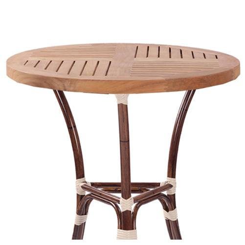 Zahradní stoly teakové