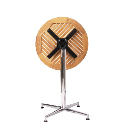 Venkovní stoly VISION SIDE TEAK D60