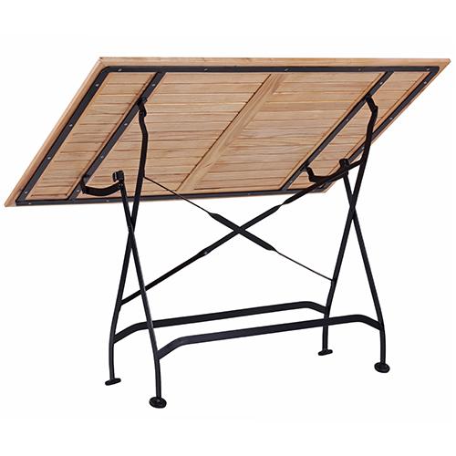 Záhradné sklápacie stoly