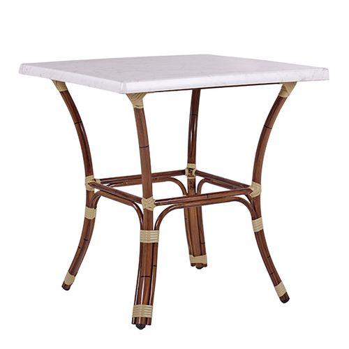 Hliníkové venkovní stoly BAMBU 4 TOPALIT 77