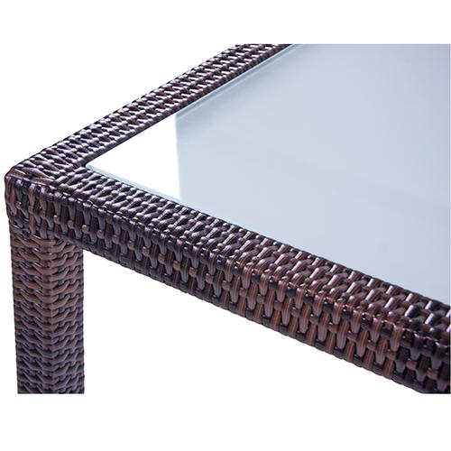 Záhradné stoly umelý ratan