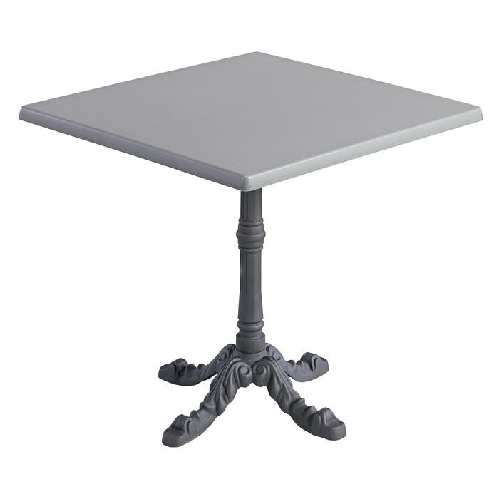 Kovové venkovní stoly LEON 4 TOPALIT Brush H80