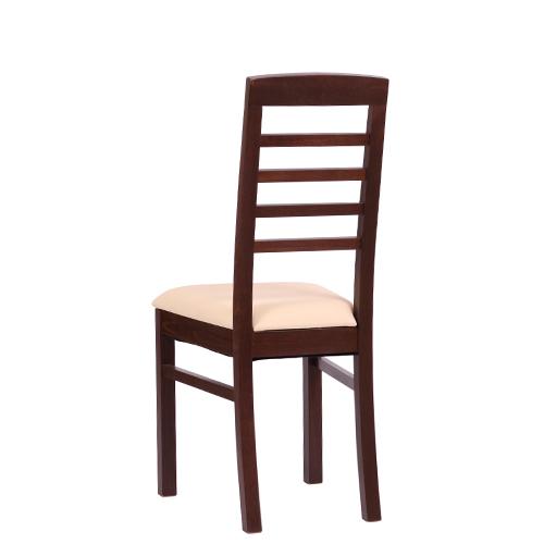 Ergonomické masivní židle dřevěné čalouněné.