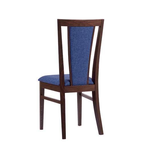 Jídelní čalouněné dřevěné židle