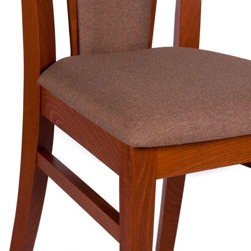 Dřevěná masivní židle