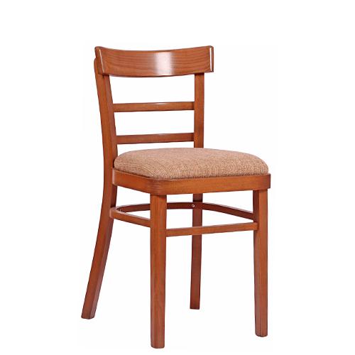 Dřevěná čalouněná židle MARONA P Espresso P pro restuarace