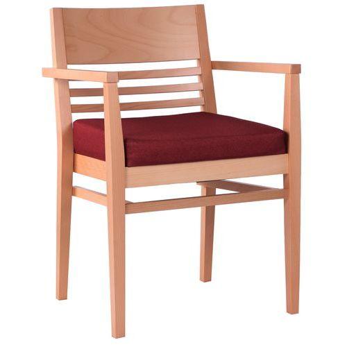 Dřevěné židle čalouněné ortopedické