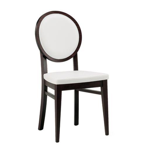Dřevěná židle s medailonem ALESSIA