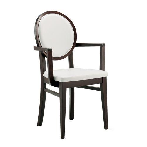 Dřevěná židle s medailonem ALESSIA AL