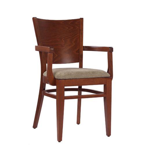 Dřevěné čalouněné židle AROL P AL