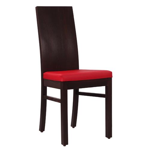 Čalouněná židle dřevěná opěrka