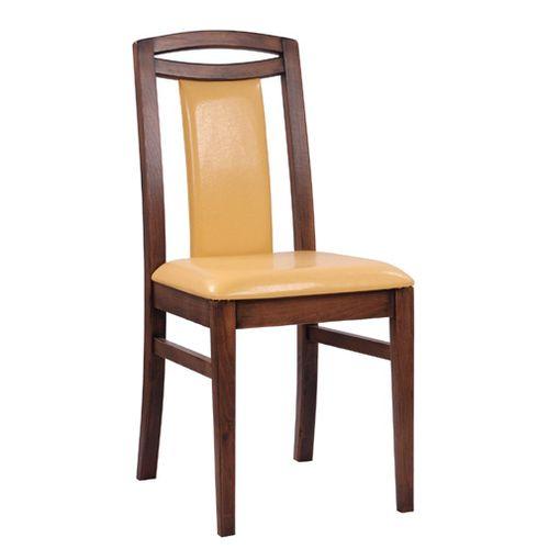 Dřevěná čalouněná židle do restaurace