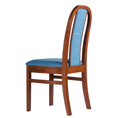 Čalouněné dřevěné židle