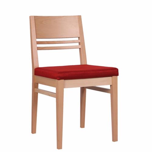 Dřevěná židle čalouněná FIORINO P