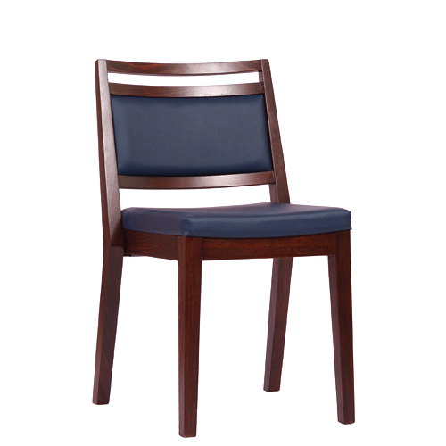 Dřevěná židle čalouněná LEANDRO P ST