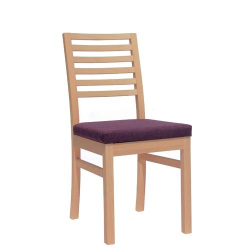 Dřevěná židle čalouněná SCARLET P