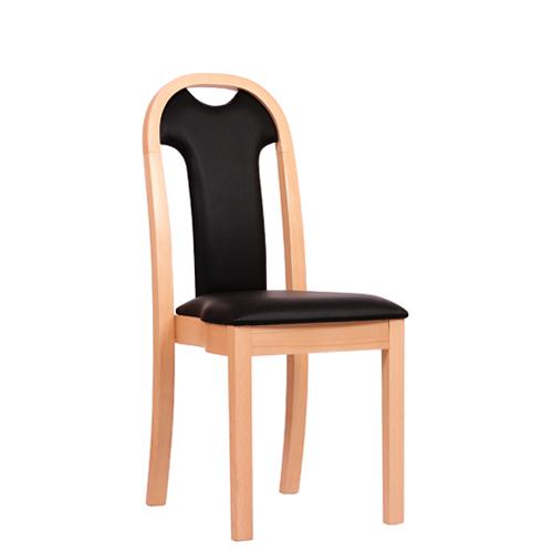 Dřevěná židle čalouněná KLAUS ST