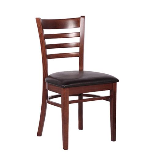 Dřevěná čalouněná židle WILLIAM P
