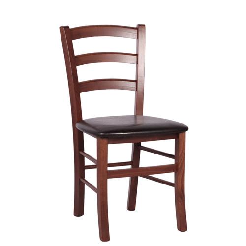 Dřevěné čalouněné židle RICARDO P