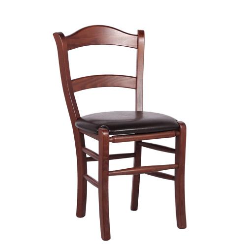 Dřevěné čalouněné židle MARO P