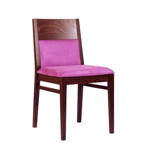 Dřevěná židle čalouněná LAURETTA