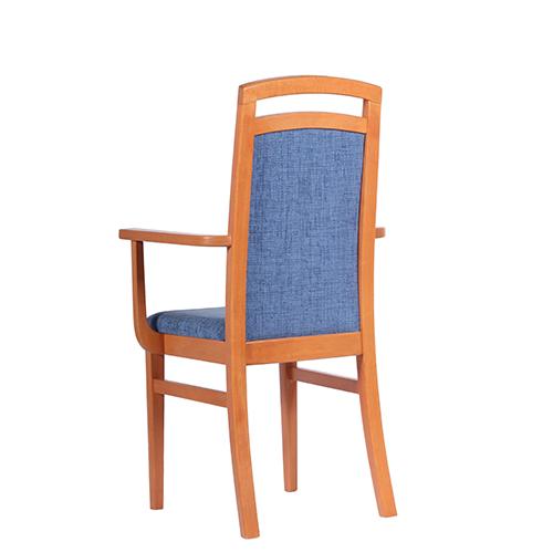 Čalouněné židle do restaurace, dřevěné židle