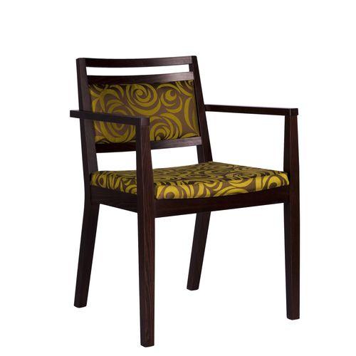 Dřevěná židle čalouněná jídelní