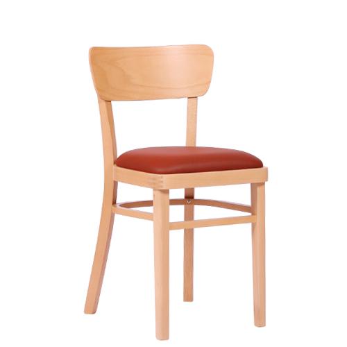 Dřevěná židle čalouněná KLASIK 96P