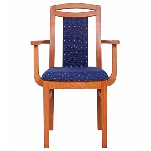 Drevěné čalůněné stoličky