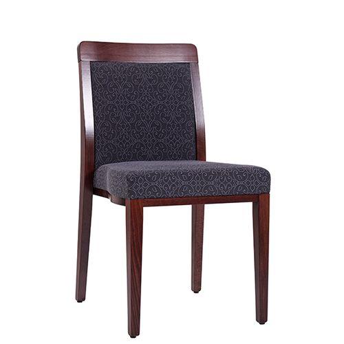 Dřevěné čalouněné židle do restaurace OPERA ST s možností stohování