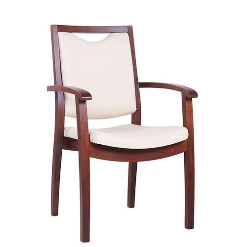 Čalouněné židle VICTORIA polokřesla s loketní opěrkou