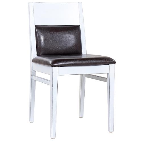 drevené stoličky Vintage Look farba