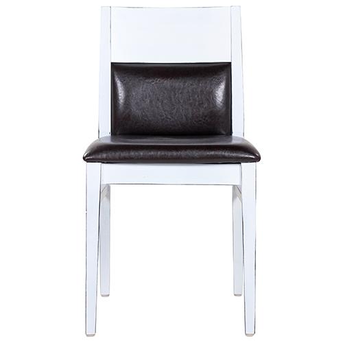 Dřevěné židle Vintage bílá