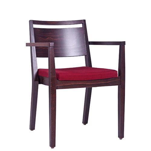 Židle čalouněná s područkou LUCAS P AL ST
